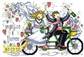 Wedding Cross Stitch Patterns New Wedding Ride Cross Stitch Pattern By Imaginating