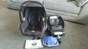 maxi cosi car seat easy base 2 rain cover and full instructions