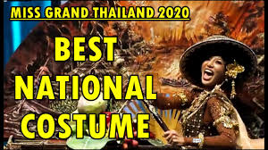 Miss Grand Thailand 2020 | Best National Costume (TOP 10) - YouTube