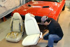 leather car seat upholstery cost how to replace your old covers like a pro hot rod network view all photos