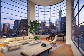 Penthouse at 10 Sullivan Street, one of the homes that Kim and Kanye are  purportedly considering. It's listed for $28.5 million. StreetEasy