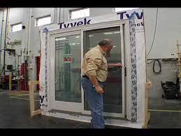 to install gliding patio door screen