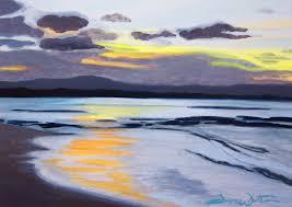 beach painting costa rica painting puerto viejo painting