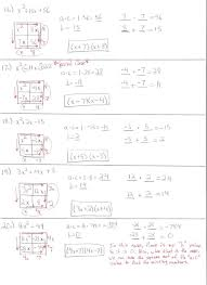 math worksheets solving quadraticns by factoring matching worksheet