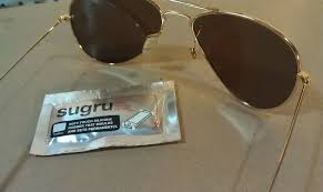 picture of ray ban repair with sugru
