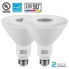 torchstar 2 pack 16 5w par38 led light bulb led flood light bulbs led bulbs for track lighting 3000k warm white walmart