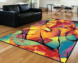 bright modern area rugs rug ideas