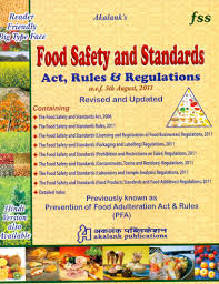 buy food safety and standards act rules and regulations at food safety and standards act rules and regulations price comparison at flipkart amazon
