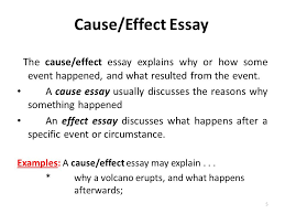 how can i write cause and effect essay ap english language essay  intermediate 2 critical essay help