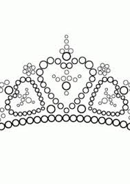 Small Picture Beautiful tiara coloring page for girls printable free
