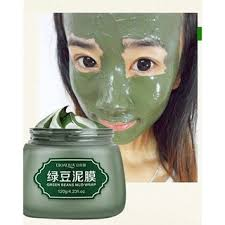 Bioaqua <b>green bean</b> mud / Clay mask <b>120g</b> (readystock) | Shopee ...