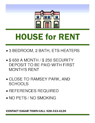 House For Rent Flyer Template Word E Flyers Tes Apartment Flyer Free Property Management Te