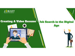 Creating A Video Resume Job Search In The Digital Age Кадры найм