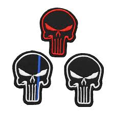 Detail Feedback Questions about <b>Punisher Skull</b> 3D PVC Epoxy ...