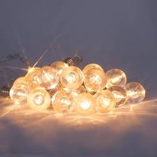mini festoon retro bulb fairy lights 16 warm white leds battery operated with timer