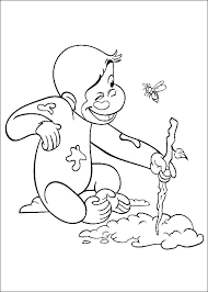 Curious George Coloring Pages For Toddlers Pdf Interactive