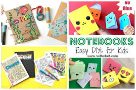 how to make girly things out of paper school supplies diy ideas red ted arts blog