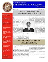 judicial profile of the honorable wesley w. steen