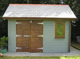 wooden shed doors for