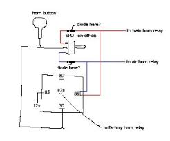 horn wiring diagram out relay horn wiring diagrams online horn wiring diagram