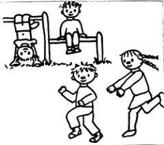 Buiten Spelen Kleurplaat Het Nieuwsblad Online Lochristi