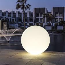 large outdoor globe lights designs