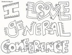 Small Picture General Conference Religious Doodles