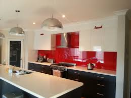 Red And White Kitchens Red Kitchen Splashback Best Decision Ever For The Home