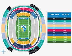 La Stadium Pricing Rams New Stadium Seating Chart