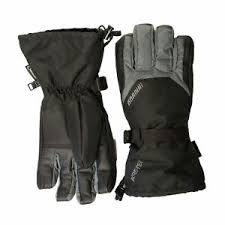 Details About Gordini Gore Tex Gauntlet Gloves Black Gunmetal X Large