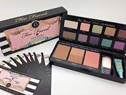 amazon too faced too faced loves sephora 15 years of beauty palette brand new in box makeup palettes beauty