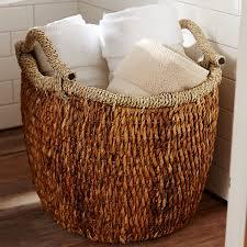 Cooper Natural Oval Wicker Basket