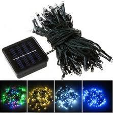 fy 100l sp series 100 led solar string lights solar powered green 100 led