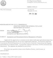 ins letter of recommendation immigration and naturalization service management of property