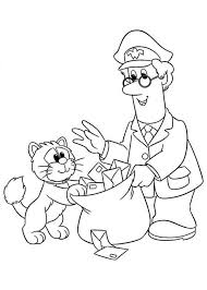 Small Picture Postman Pat Put All Mail in a Bag Coloring Pages Bulk Color