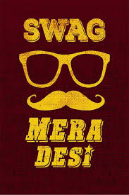 Athahdesigns Swag Mera Desi Quotes Fine Quality Wall Poster Amazon