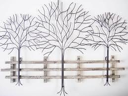 metal tree wall art decor home design ideas