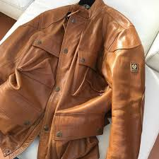 mens belstaff clothing belstaff clothing leather jacket modello panther pelle m original made in