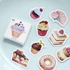 <b>45pcs</b>/<b>много</b> день рождения торт этикетки наклейки мини декор ...
