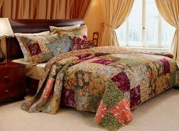Country Comforter Sets | BEST BUY 5PC FRENCH COUNTRY PATCHWORK ... & French Country Patchwork Quilted Bedspread Set Oversized King (to the  floor) Finely Stitched Adamdwight.com