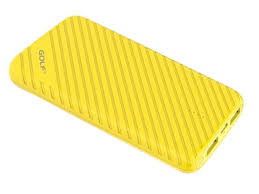 <b>Внешний аккумулятор Golf Edgee</b> Power Bank G17 8000mAh Yellow