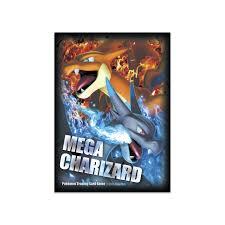 image for mega charizard x mega charizard y card sleeves 65 sleeves from