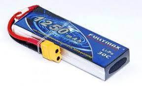 Fullymax <b>Аккумулятор Fullymax LiPo 7.4V</b> 2S 30C 1250mAh, цена ...