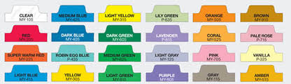 Custom Index Tabs/poly Tabs For Presentations, Booklets, Manuals ...