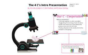 The 4 C's Into Presentation by Jordyn Levinsky-Carter