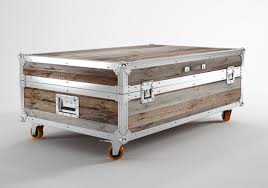 Steamer Trunk Furniture Steamer Trunk Coffee Table