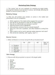 How To Write A Sales Plan Template Sample Sales Plan Template 100 Free Documents in PDF RTF PPT 2