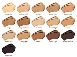 Glo Minerals Colour Chart Mac Skin Tone Chart Gloprotective Liquid Foundation