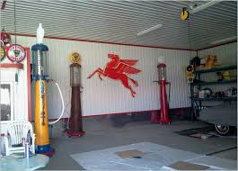 installing corrugated metal garage walls