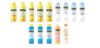 Neutrogena sunscreen recall 2021: What ...